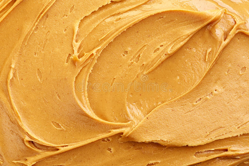 Masła orzechowego tło obraz stock