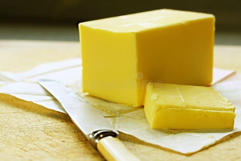 masło fotografia stock