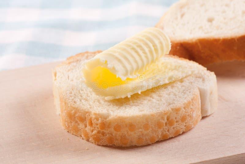 masło chlebowi kędziory obrazy royalty free