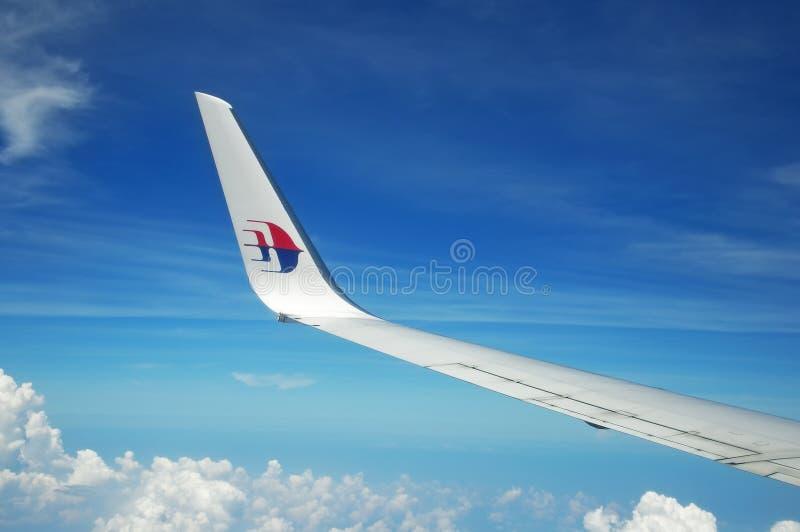 MAS飞机翼商标 库存照片