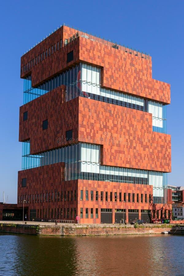 MAS muzealny buduje Belgium obrazy royalty free