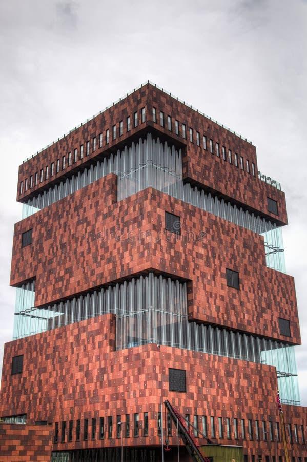 MAS muzeum w Antwerp, Belgia fotografia stock