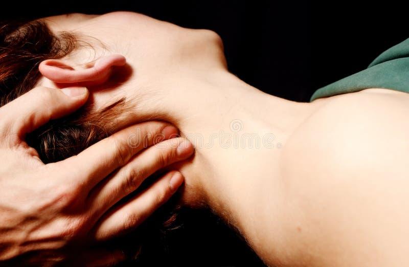 masaż. obraz royalty free