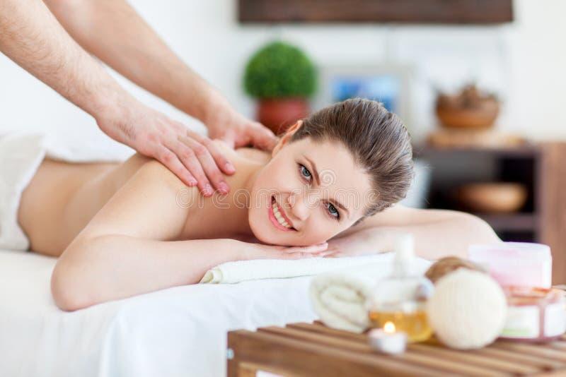 masaż zdjęcie stock