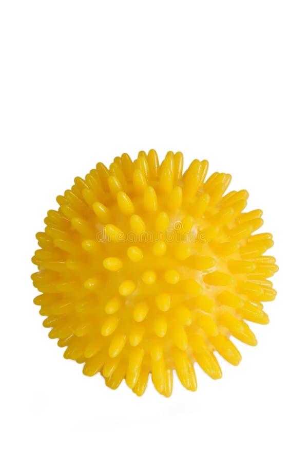 masaż kulowego żółty obrazy royalty free