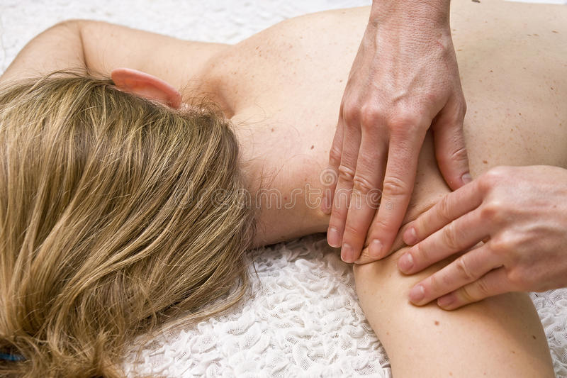 masaż tharapy zdjęcia stock