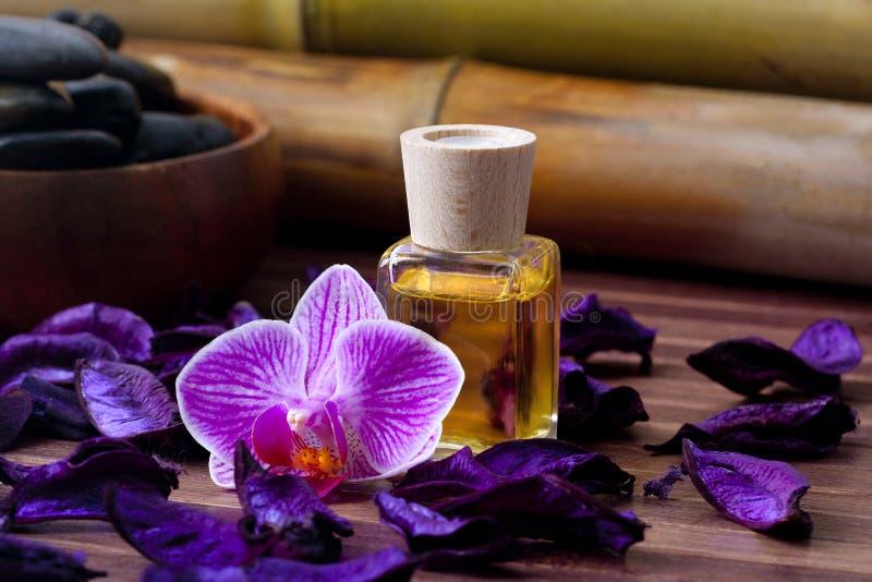 Masażu olej zdjęcia stock
