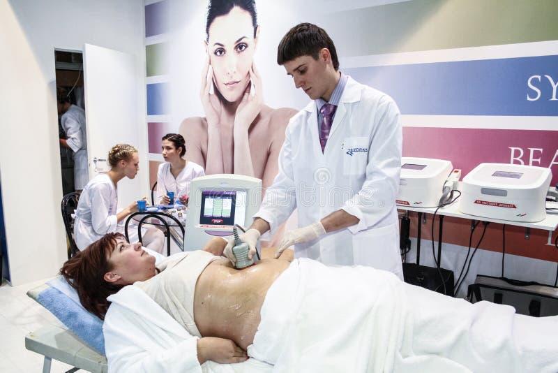 masażu procedury próżnia zdjęcie royalty free