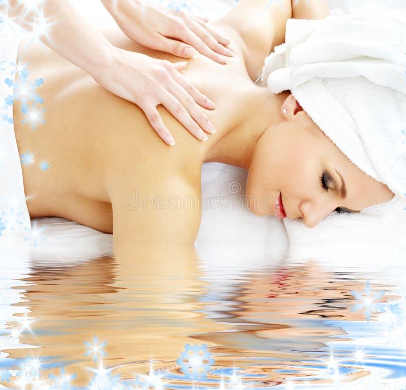 masażu profesjonalista zdjęcia stock