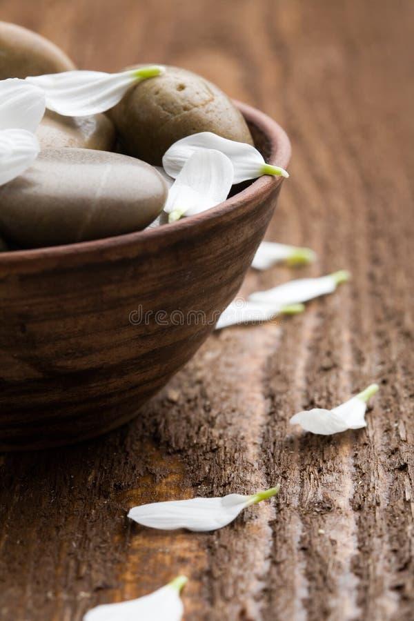 masaży kamienie zdjęcie stock
