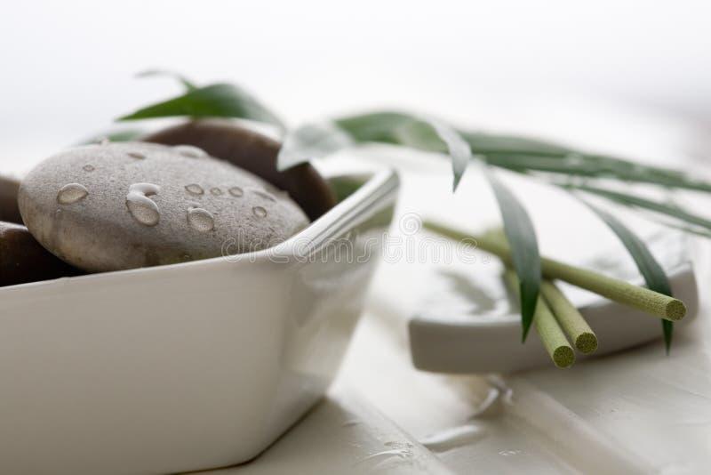 masaży kamienie zdjęcie royalty free