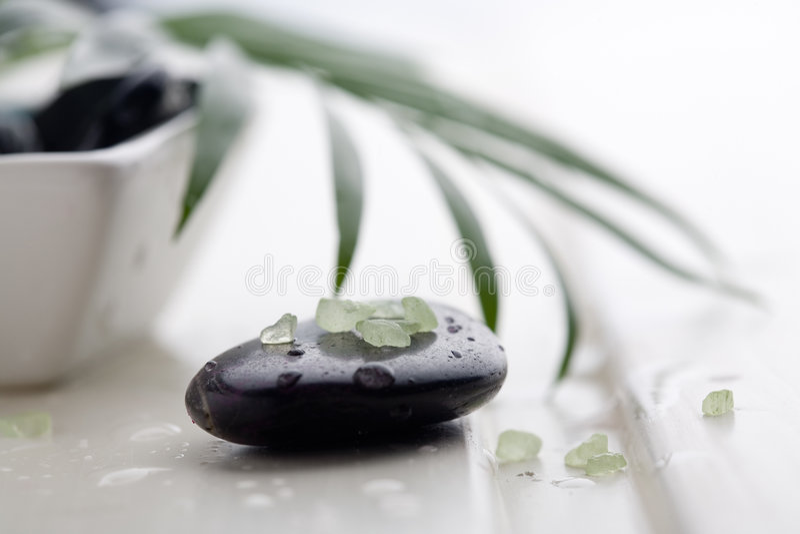 masaży kamienie obraz royalty free