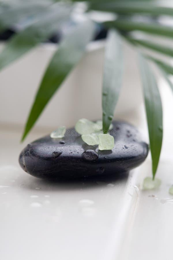 masaży kamienie obraz stock