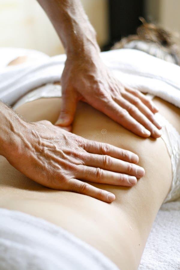 masażysta obraz stock