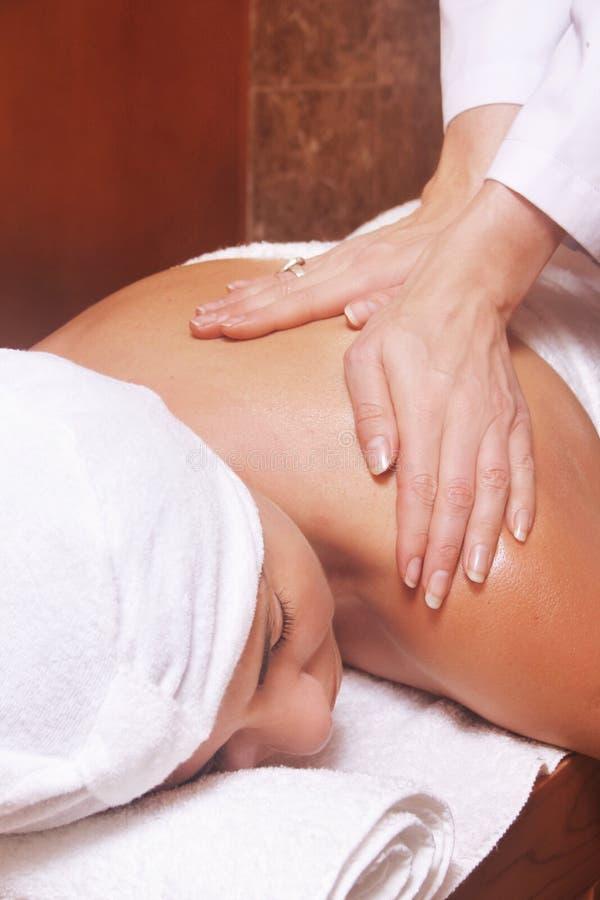 masażystka zdjęcie stock