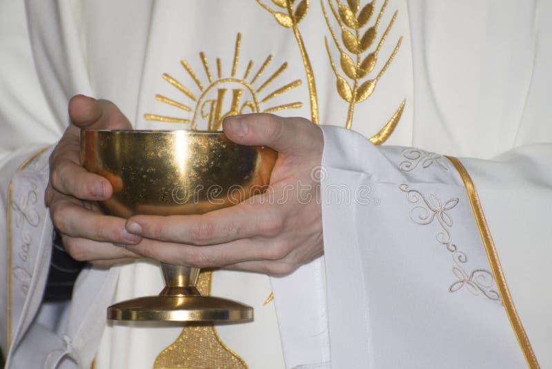Masa católica imagen de archivo libre de regalías
