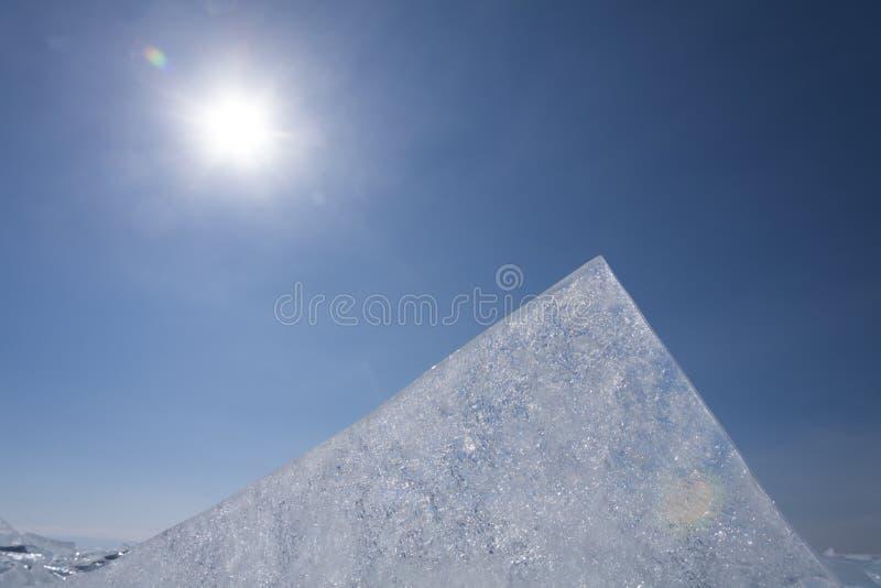 Masa de hielo flotante de hielo fotografía de archivo libre de regalías