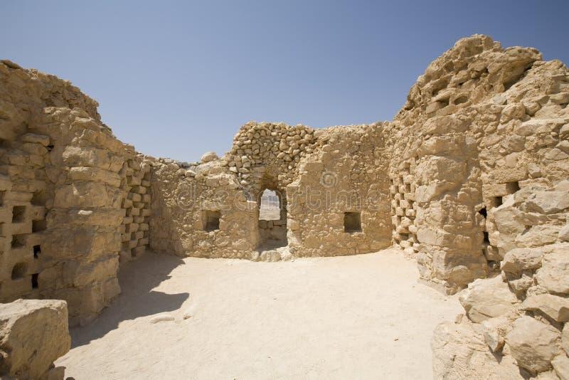 masada του Ισραήλ columbarium στοκ εικόνες με δικαίωμα ελεύθερης χρήσης