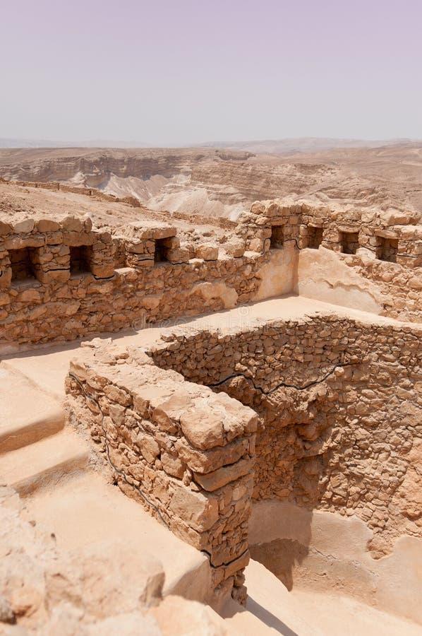 masada Израиля стоковое изображение