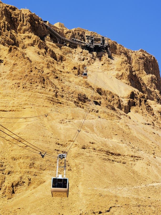 Masada στοκ φωτογραφία