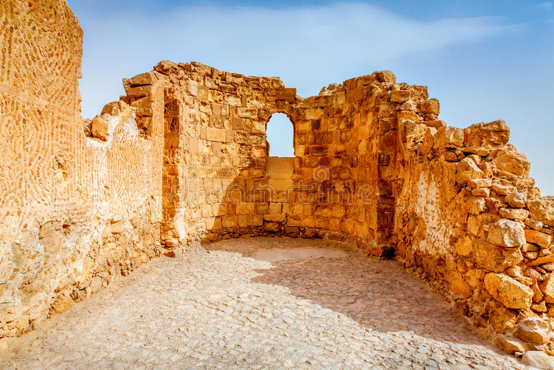 Masada stockbild