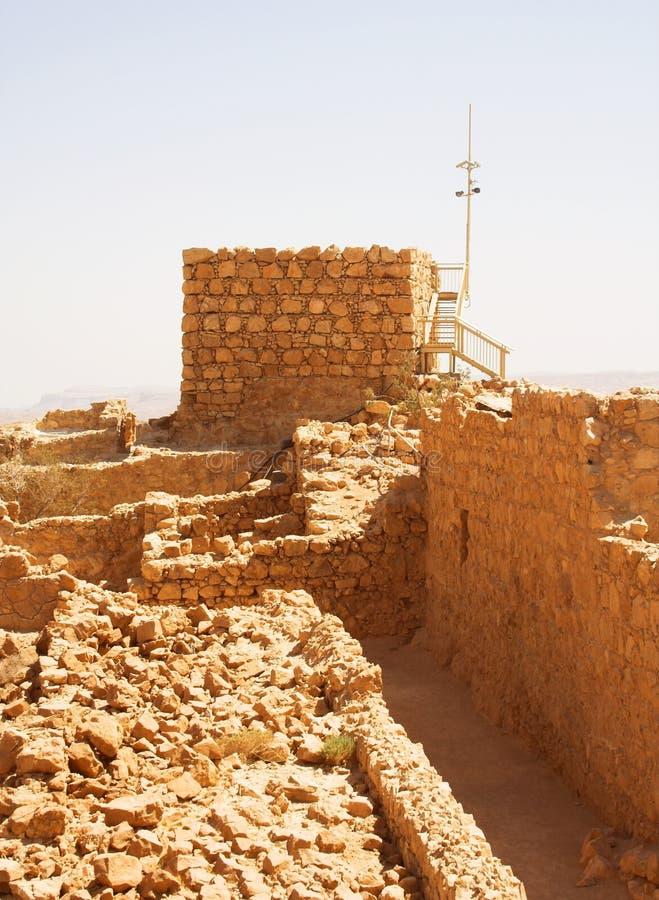 Masada fotografia de stock