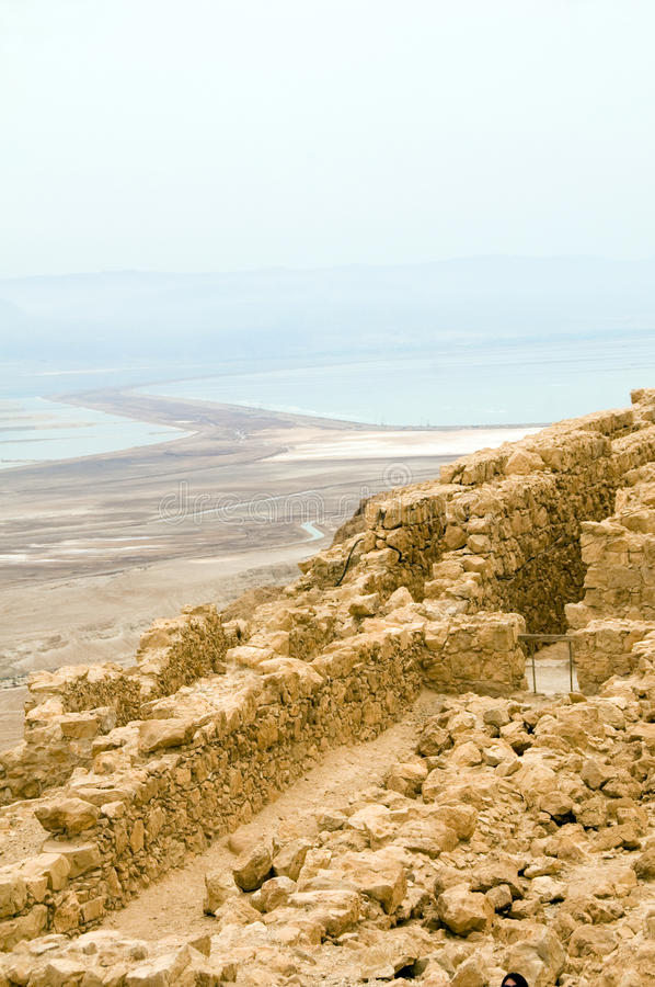 Free Masada Ancient Fortress Dead Sea Israel Royalty Free Stock Images - 25263879