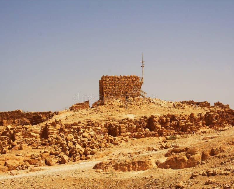 Masada, dia de verão fotografia de stock