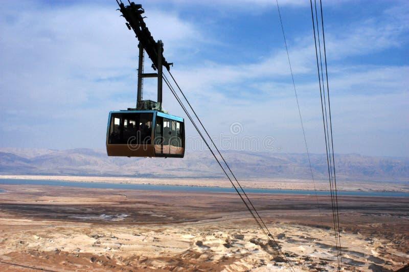 Masada - Israël stock foto
