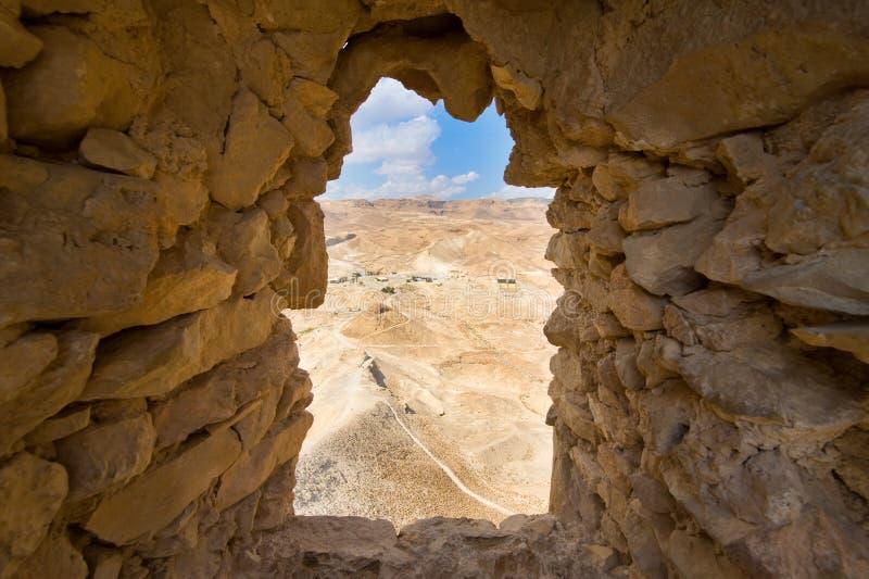 Masada in Israël royalty-vrije stock foto's