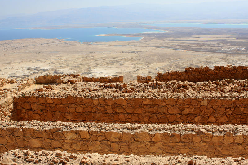 Masada, Israel foto de stock royalty free