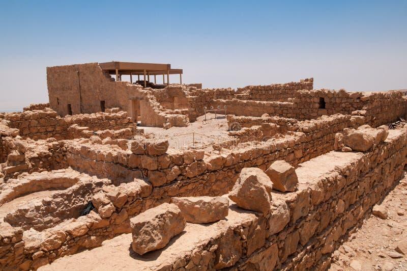 Masada, Israel imagens de stock royalty free