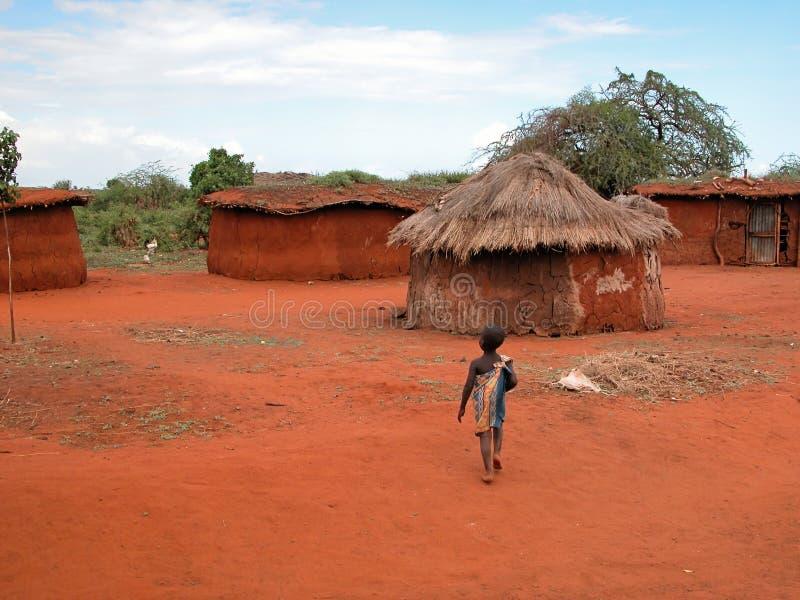 masai ребенка стоковое фото rf