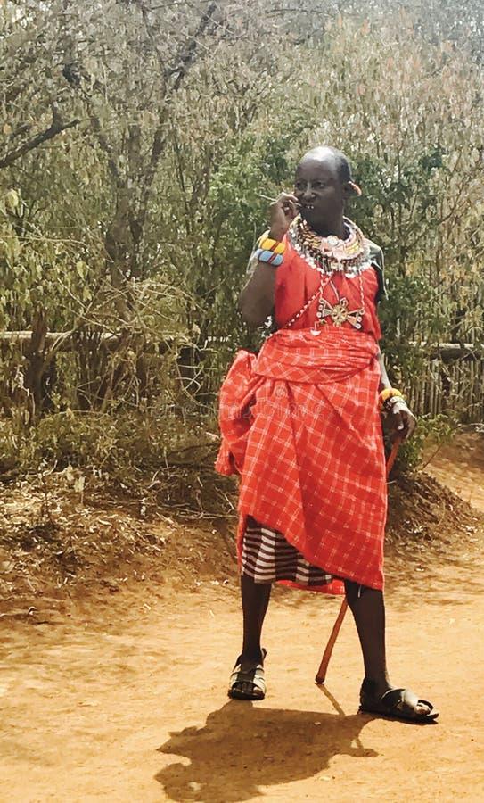 masai zdjęcie royalty free