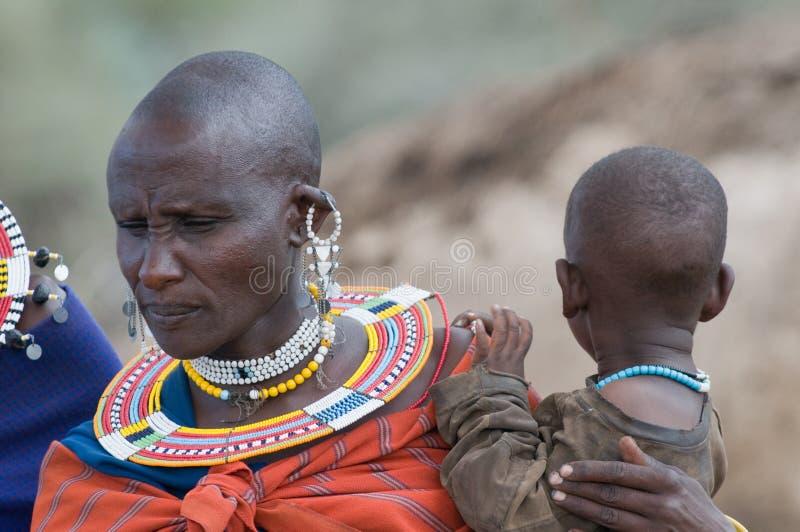 masai стоковое изображение