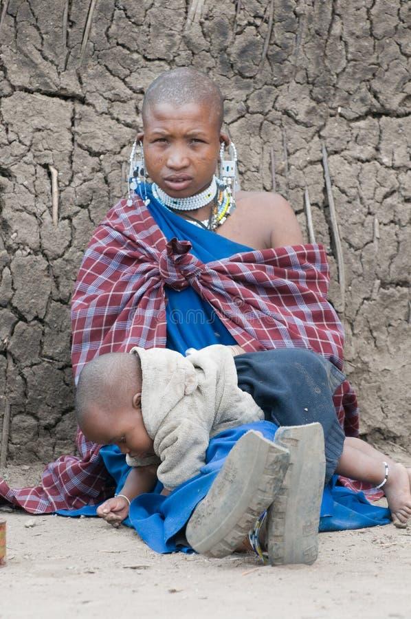 masai стоковые фотографии rf