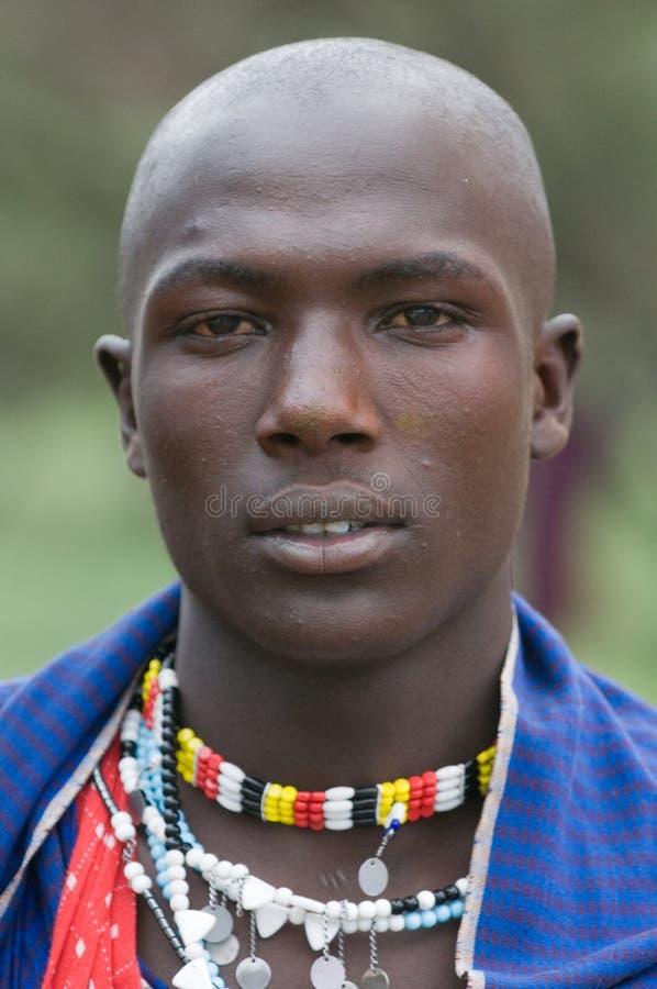 Masai royalty-vrije stock foto's