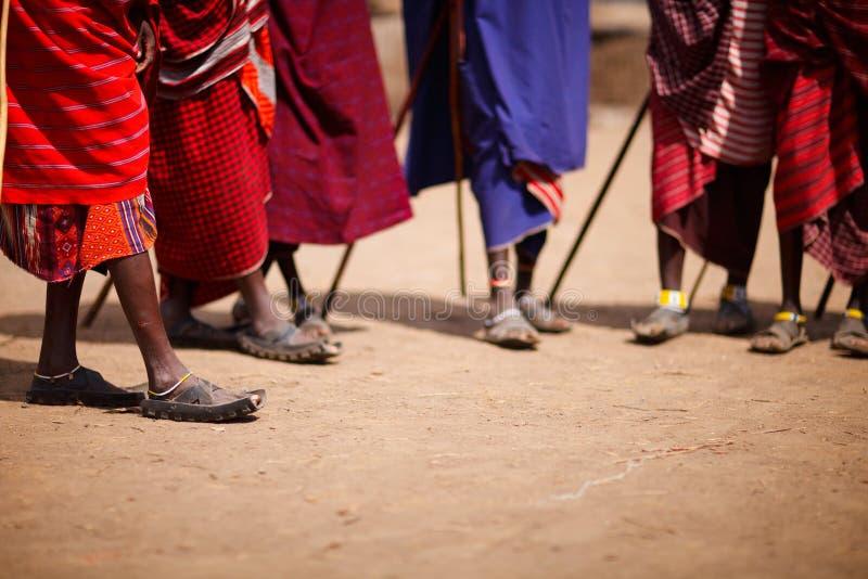 Masai foto de stock