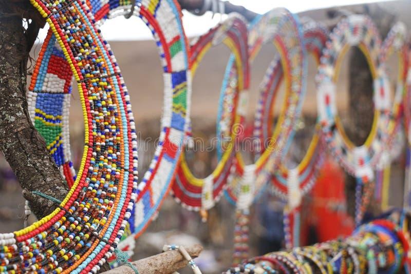 Masai Beads royalty free stock photos