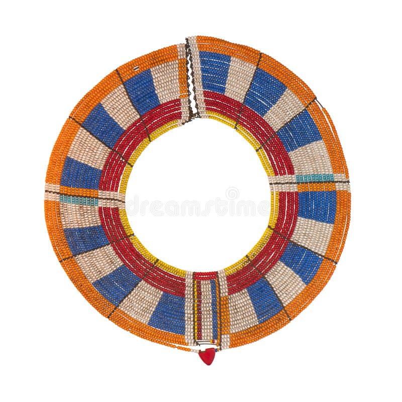 Masai-Hochzeits-Halskette stockbilder