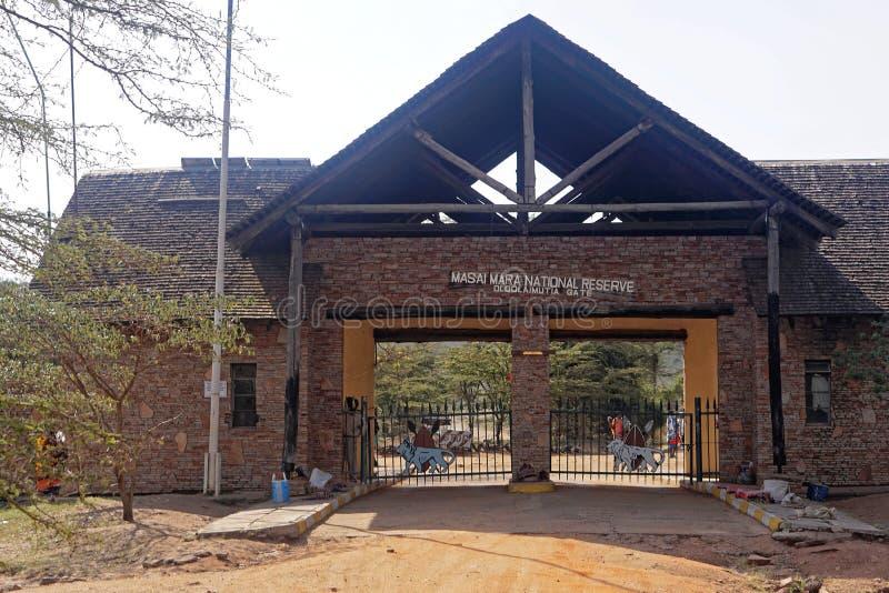 Masai Mara image libre de droits