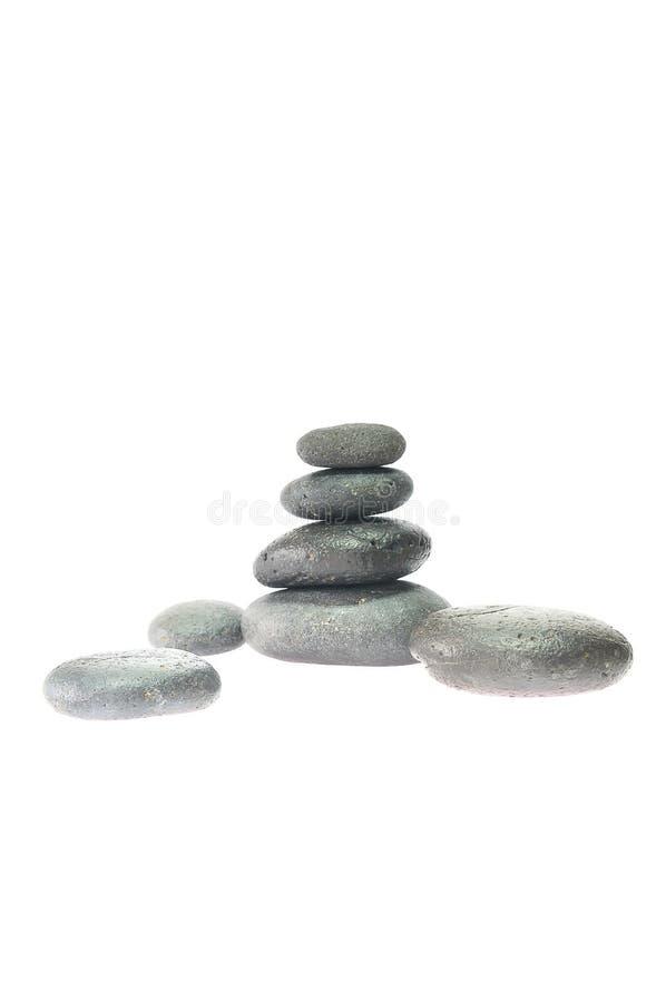 Masaje de piedra. imágenes de archivo libres de regalías