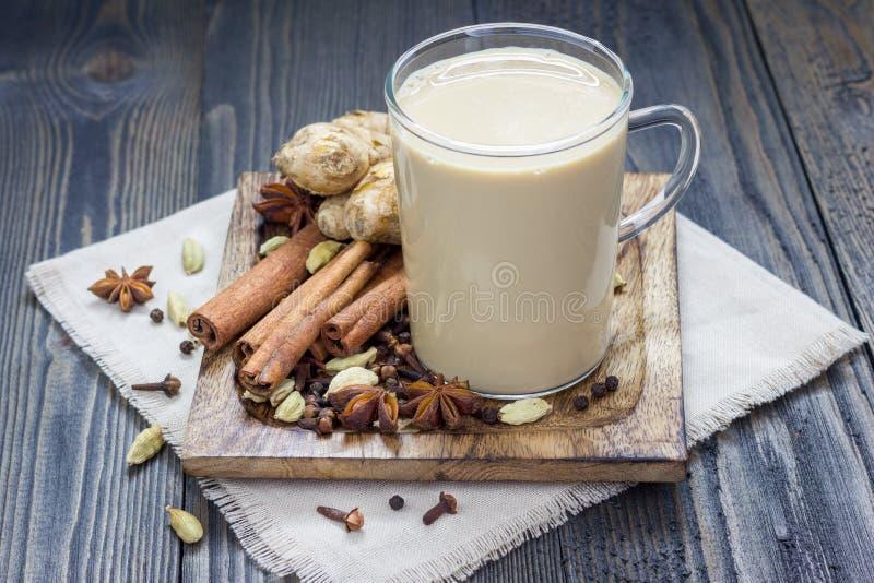 Masala chai foto de stock royalty free
