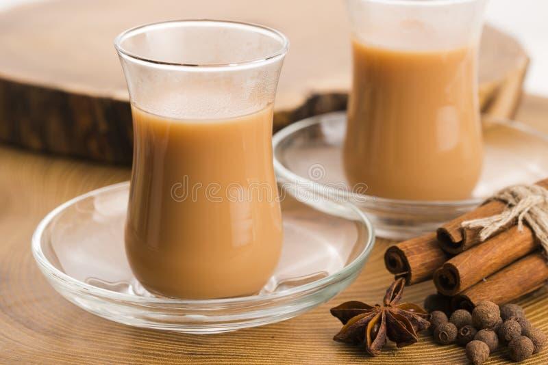Masala chai photo stock