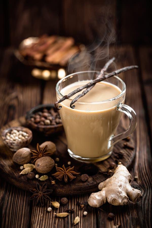 Free Masala Chai Tea Royalty Free Stock Images - 84545079