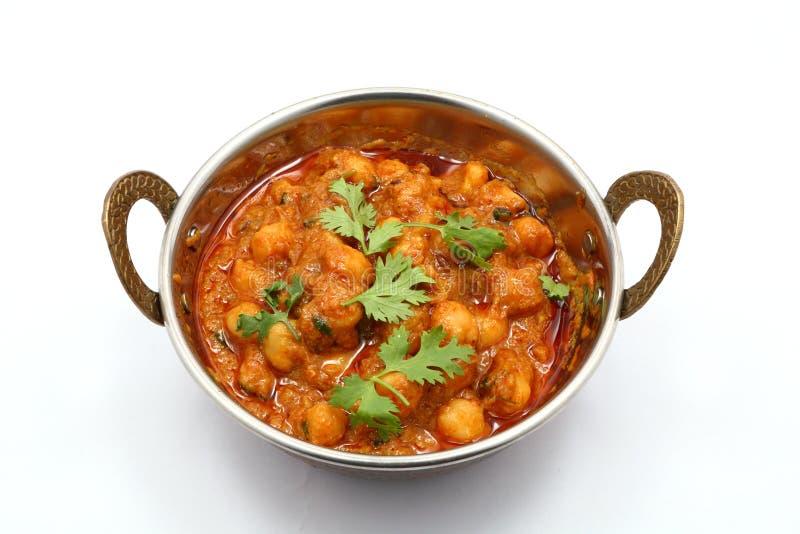 Masala di Chana, curry del cece immagini stock