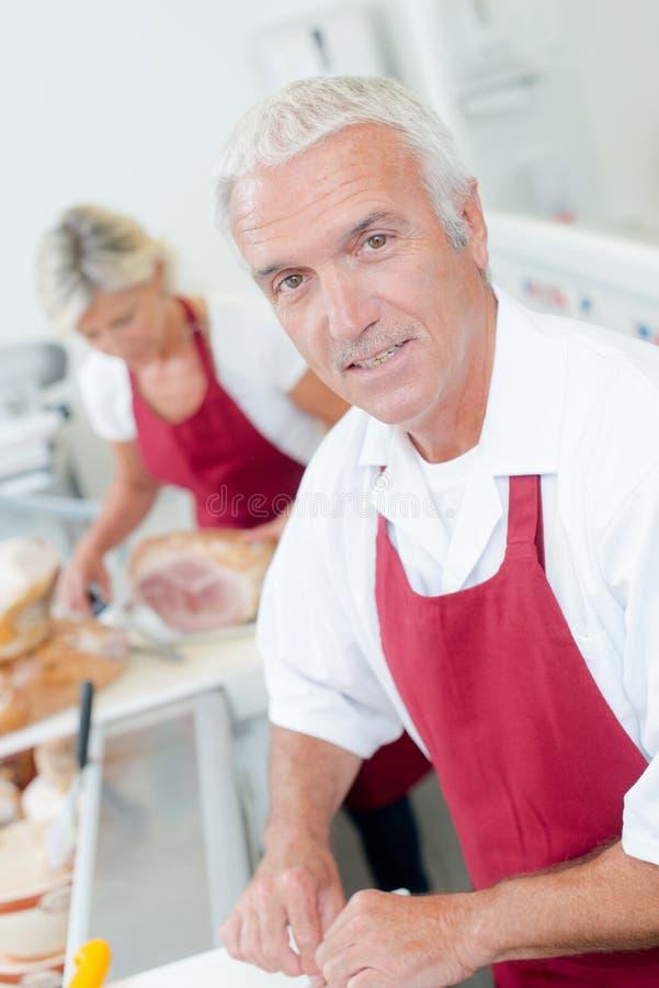 Masarki porci kobiety klient zdjęcia royalty free