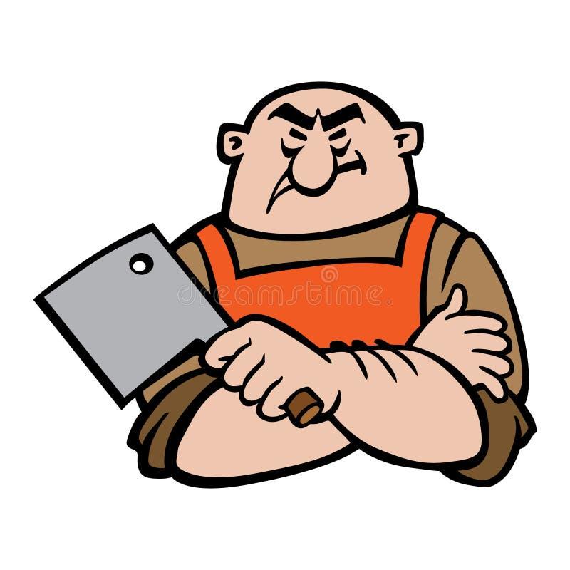 Masarki postać z kreskówki wektorowa ilustracja, odosobniony tło ilustracji