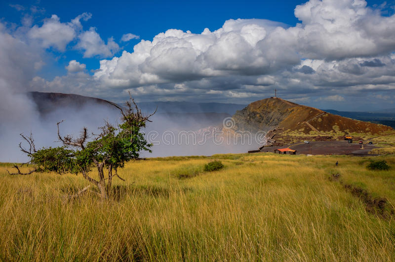 Masaya Volcan National Park, Nicaragua royalty-vrije stock foto