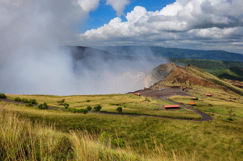 Masaya Volcan National Park, Nicaragua stock afbeelding